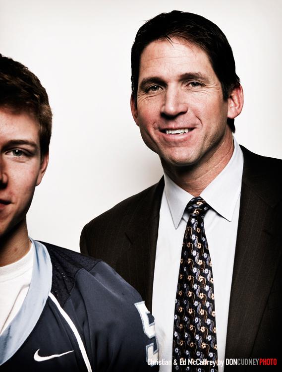 Christian & Ed McCaffery, 2013.